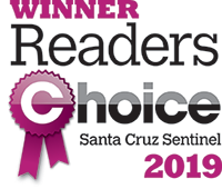 Winner Readers Choice Santa Cruz Sentinel 2019
